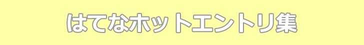 ホットエントリ集